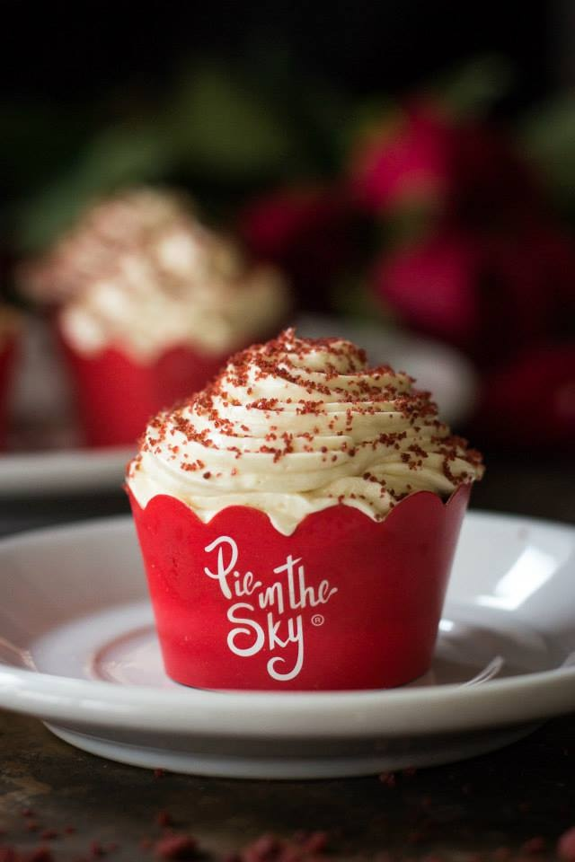 Petit Four Cupcake de Red velvet
