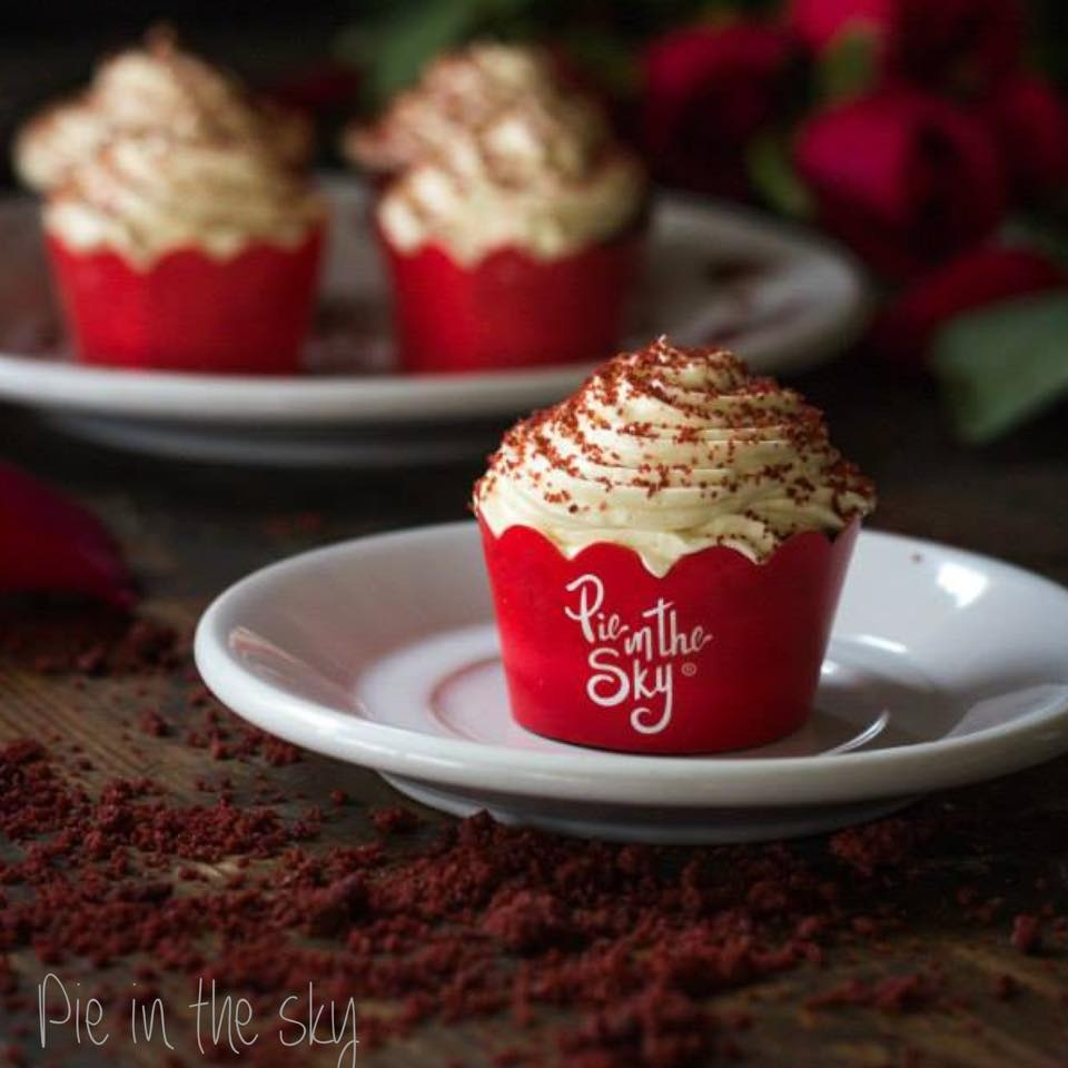 Petit fours cupcake red velvet